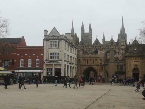 Centre ville de Peterborough